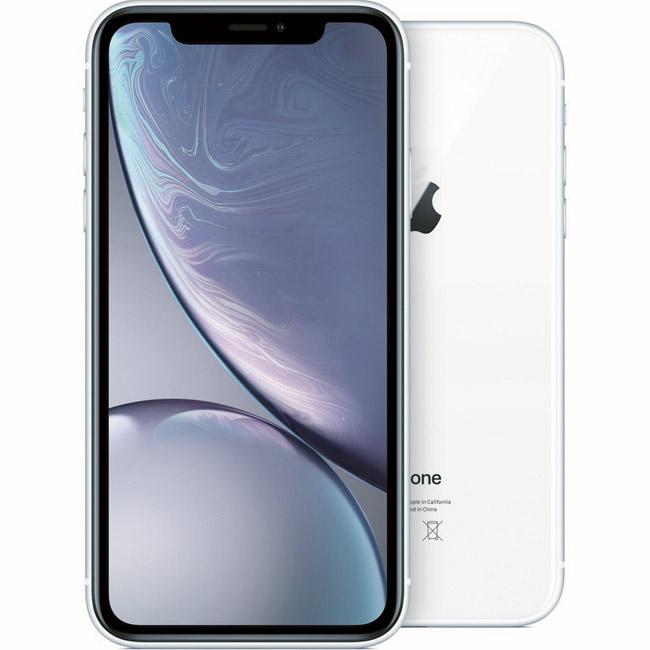 iPhone XR, 64GB, white