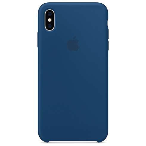 Apple iPhone XS Max Silicone Case - Blue Horizon MTFE2ZM/A