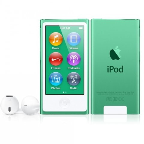 Apple iPod Nano 16GB | Green - 7th gener�cia