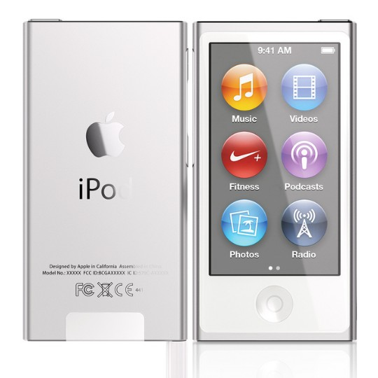 Apple iPod Nano 16GB | Silver - 7th gener�cia