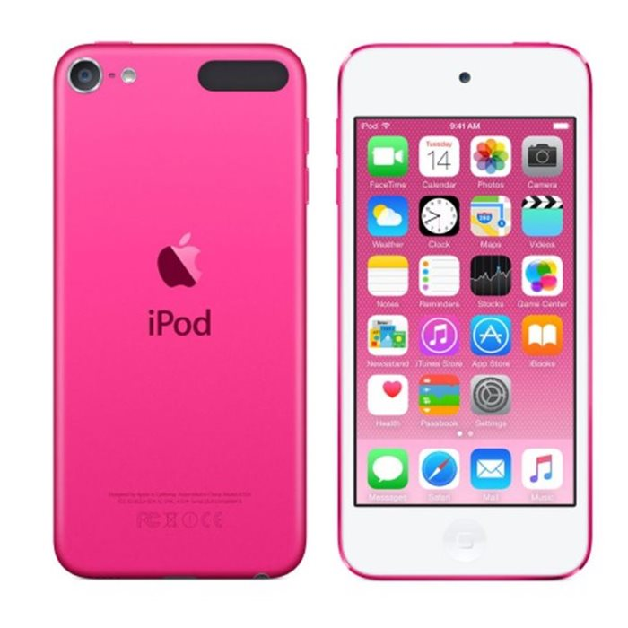 Apple iPod Touch 16GB, najnov�ia 6. gener�cia, Pink