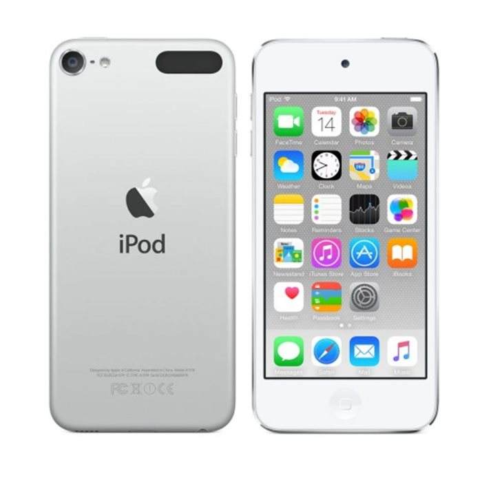 Apple iPod Touch 16GB, najnov�ia 6. gener�cia, Silver
