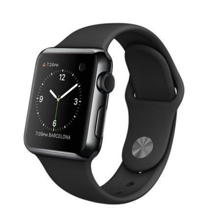 Apple Watch, 38mm, Black + Doprava Zadarmo
