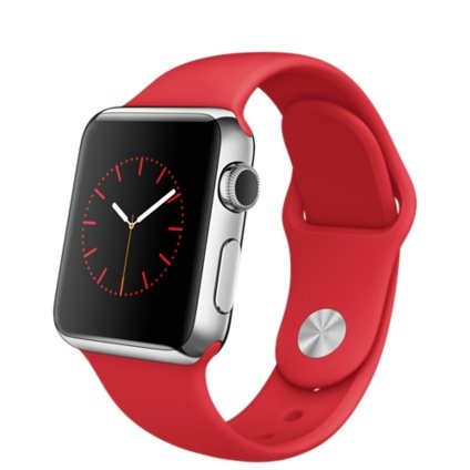 Apple Watch, 38mm, Red + Doprava Zadarmo
