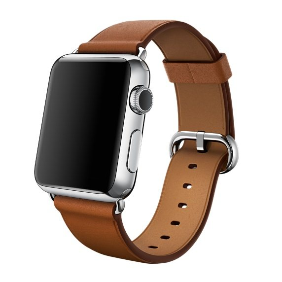 Apple Watch, 38mm, Saddle Brown Classic Buckle + Doprava Zadarmo
