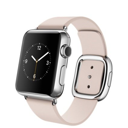 Apple Watch, 38mm, Soft Pink Modern Buckle + Doprava Zadarmo