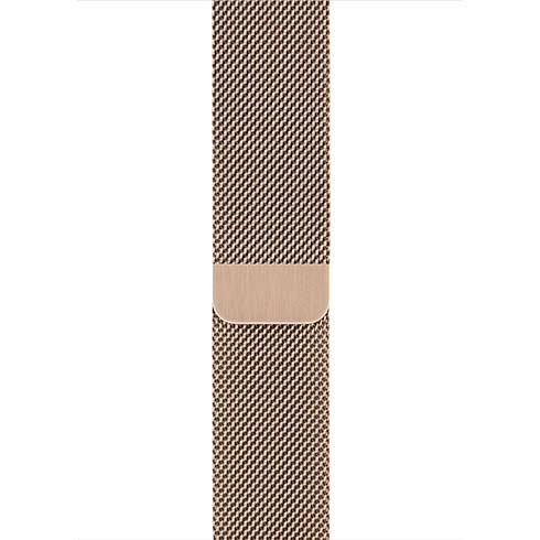Apple Watch 38/40mm Milanese Loop náramok, zlatý