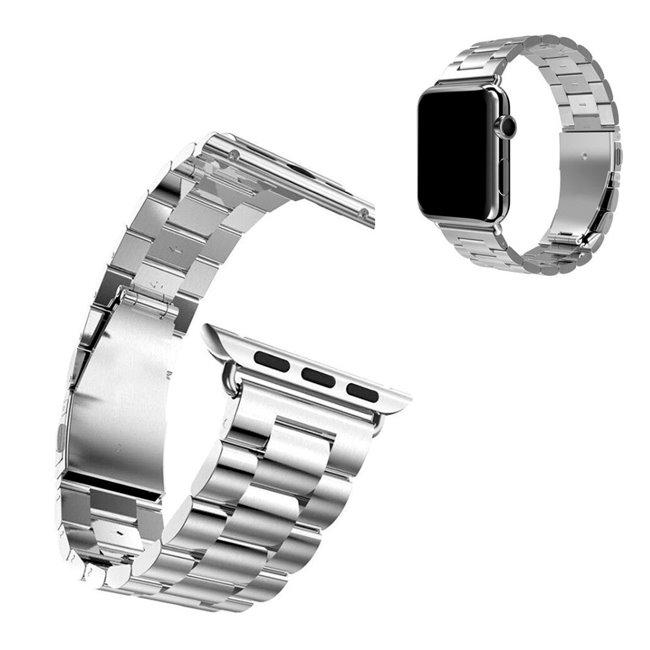 Apple Watch 38/40mm Metal band náramok, strieborný