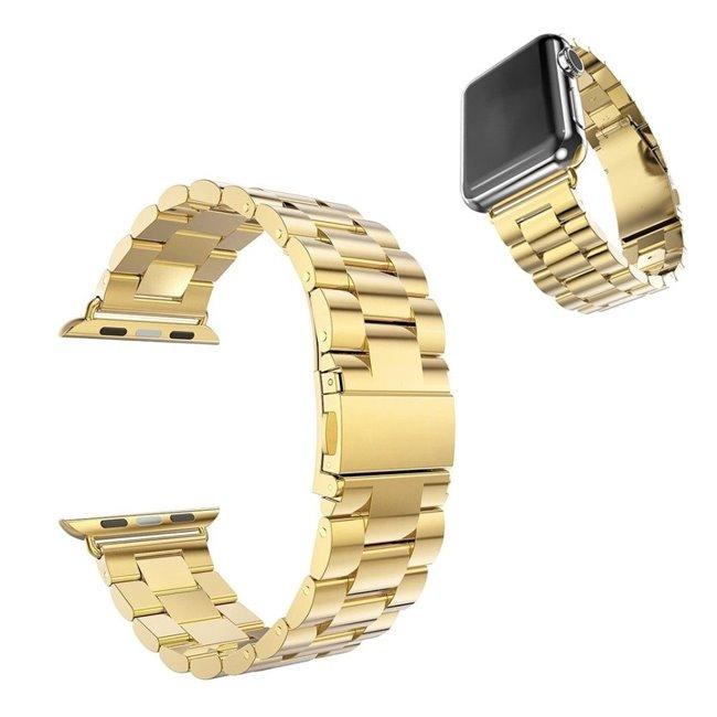 Apple Watch 38/40mm Metal band náramok, zlatý