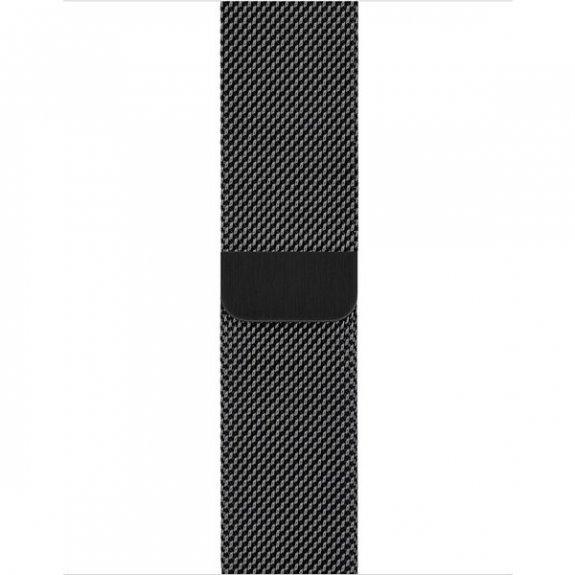 Apple Watch 38/40mm Milanese Loop náramok, čierny
