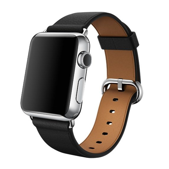 Apple Watch, 42mm, Black Classic Buckle + Doprava Zadarmo