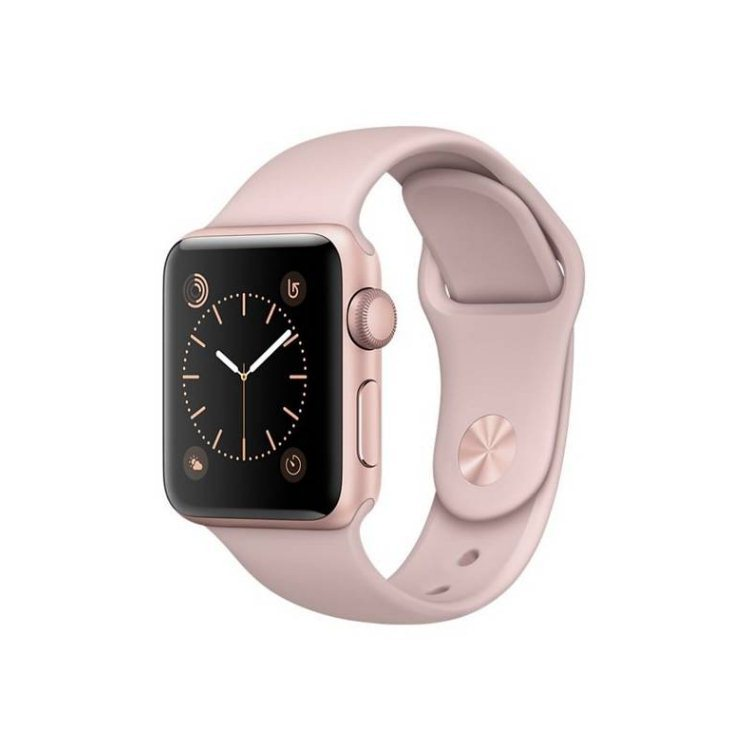 Apple Watch Series 2, 38mm Rose Gold Aluminium Case with Pink Sand Sport Band MNNY2CN/A