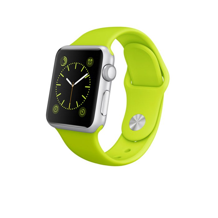 Apple Watch SPORT, 38mm, Green + Doprava Zadarmo