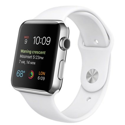 Apple Watch SPORT, 38mm, White + Doprava Zadarmo