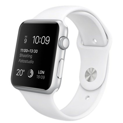 Apple Watch SPORT, 42mm, Silver
