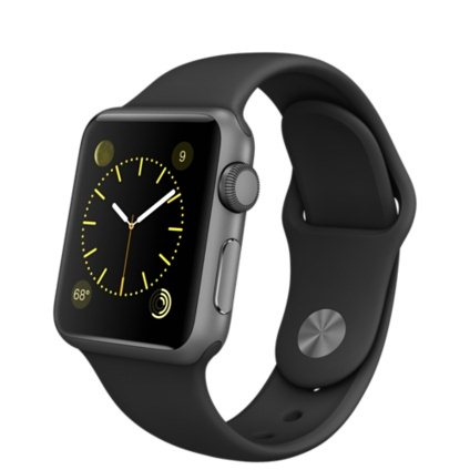 Apple Watch SPORT, 42mm, Space Gray