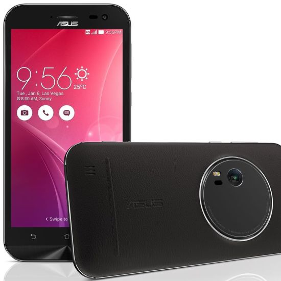 Asus Zenfone Zoom - ZX551ML, Black - SK distrib�cia