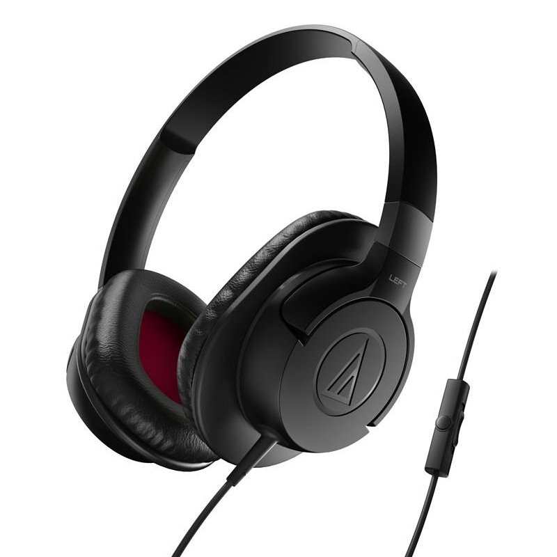 Audio-Technica ATH-AX1iS SonicFuel - káblový Headset, Black