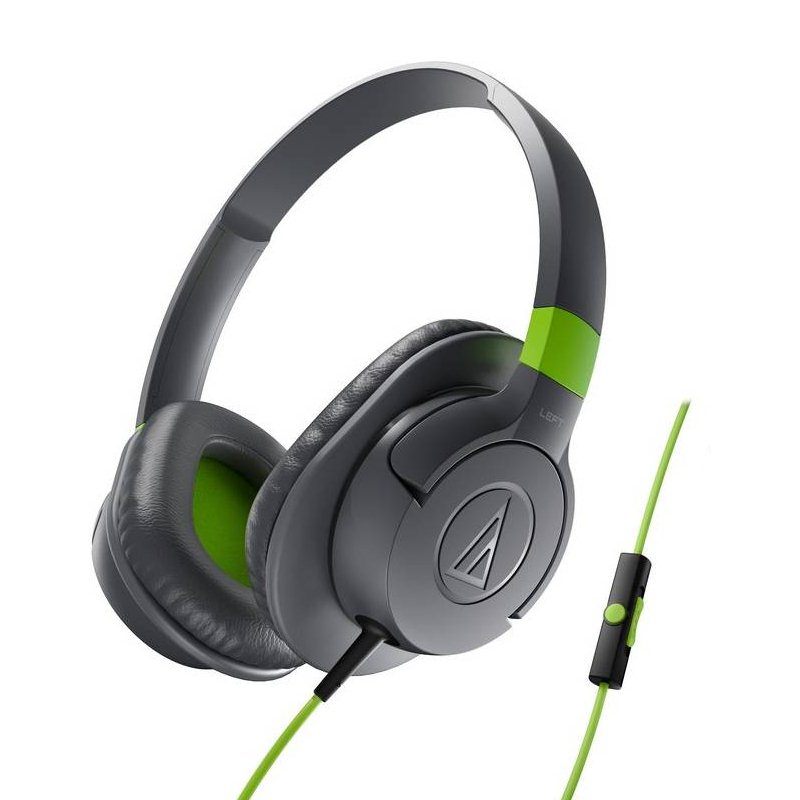 Audio-Technica ATH-AX1iS SonicFuel - káblový Headset, Grey