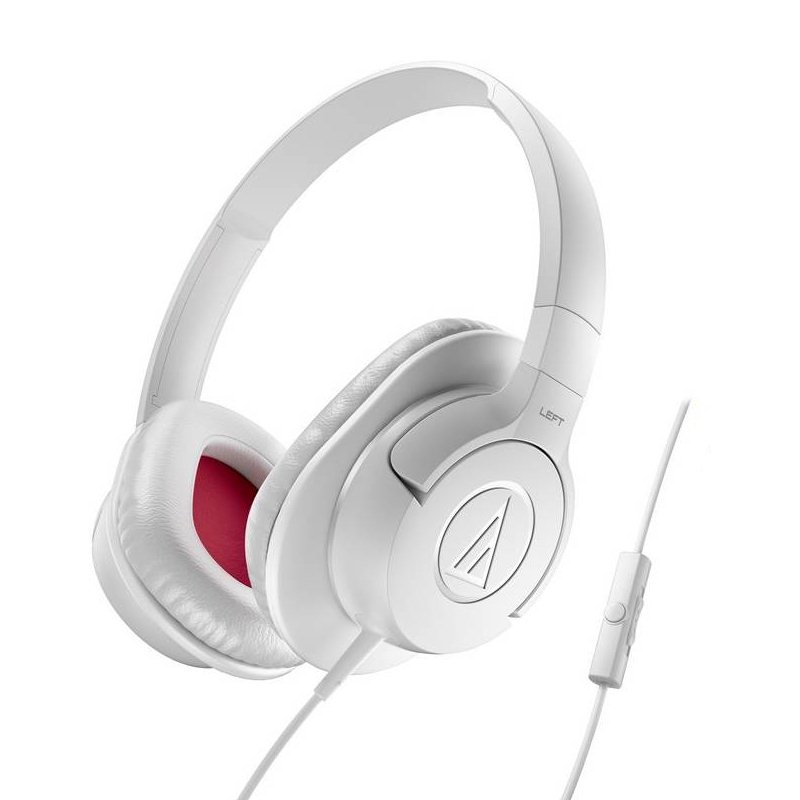 Audio-Technica ATH-AX1iS SonicFuel - káblový Headset, White