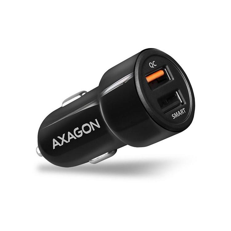 Autonabíjačka AXAGON PWC-QC5 QuickCharge 3.0 - 31W, Black PWC-QC5