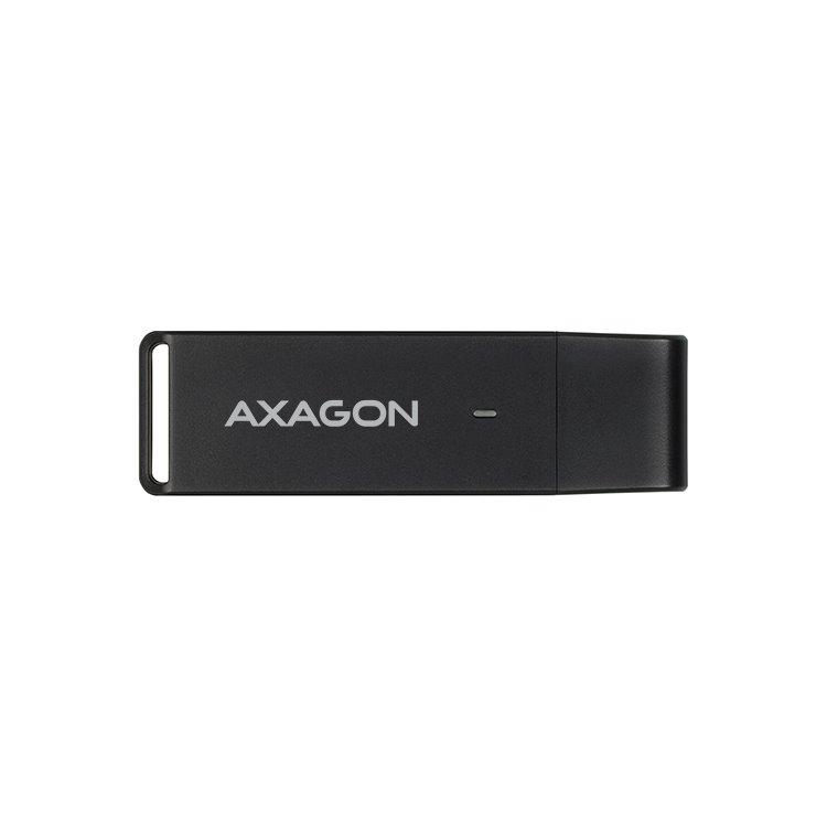 AXAGON CRE-S2 externá USB 3.0 čítačka pamäťových kariet
