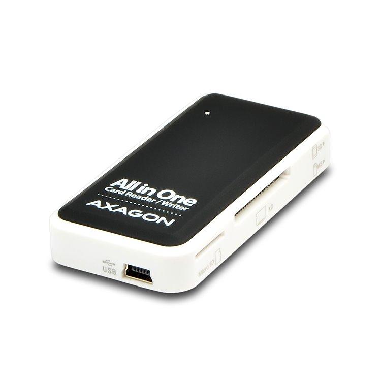 AXAGON CRE-X1 externá Mini All-in-one čítačka pamäťových kariet