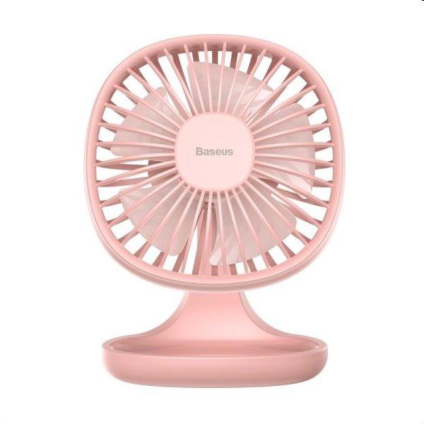 Baseus stolný mini ventilátor, ružový CXBD-04
