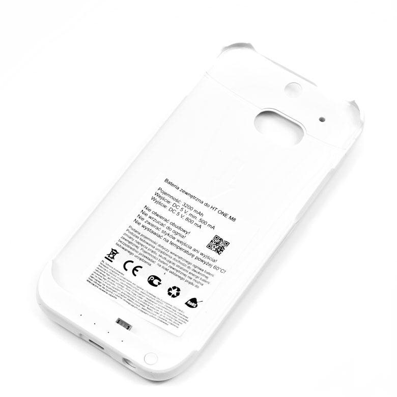 Bat�ria (3200 mAh) pre HTC ONE - M8, White