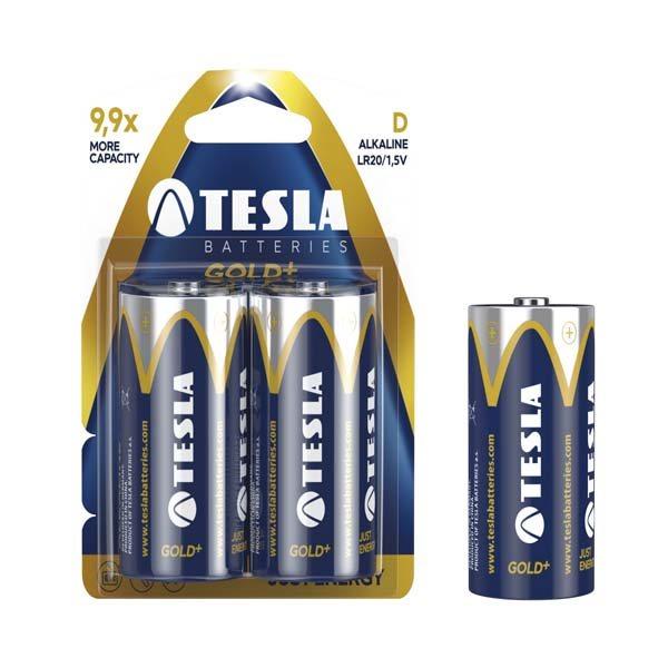 Batéria typ C (LR14), TESLA GOLD+, 2 kusy
