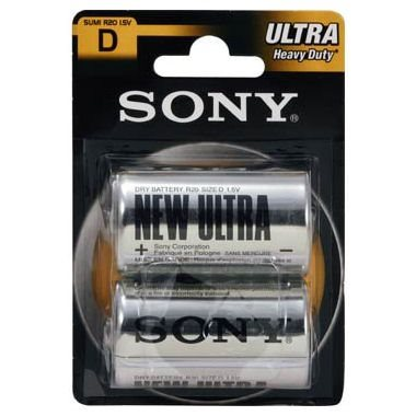Batéria typ D(R20), SONY SUM1NUB2A, 2kusy