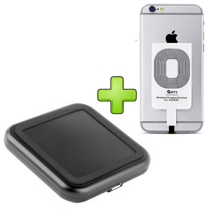 Bezdrôtové nabíjanie pre Apple iPhone 5 a iPhone 5S + bezdrôtová nabíjačka