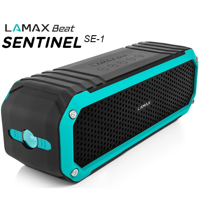 Bezdrôtový reproduktor LAMAX Beat SENTINEL SE-1 + FM radio + slot na pamäťovú kartu