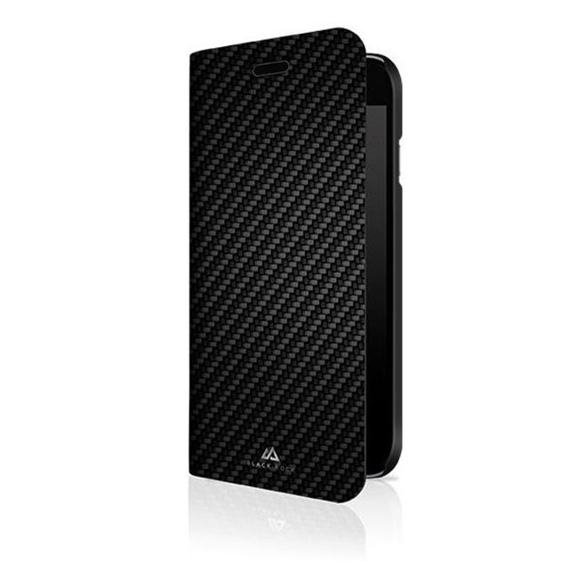 Black Rock Flex Carbon Booklet iPhone 6/7/8/SE 2020, Black