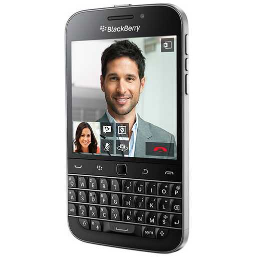 BlackBerry Classic - Qwerty, Black - SK distrib�cia