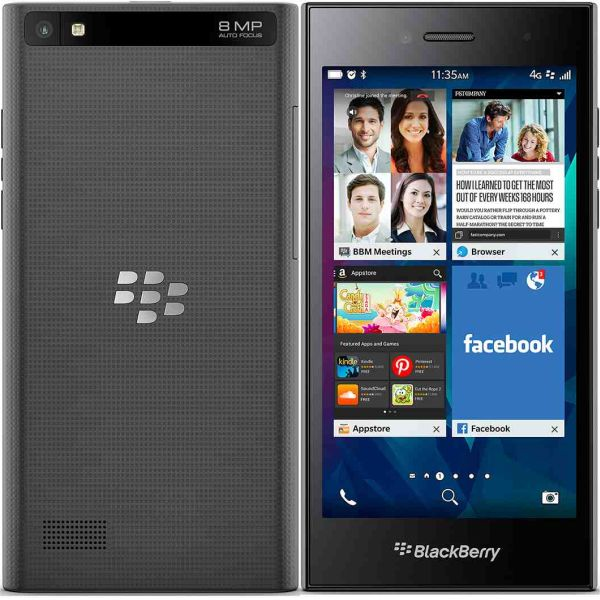 BlackBerry Leap, Black - SK distrib�cia