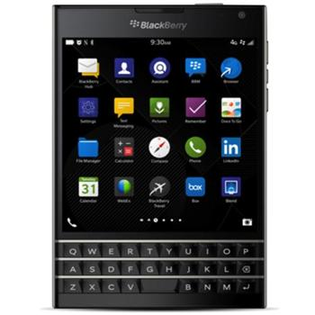 BlackBerry Passport - Qwerty, Black - SK distrib�cia