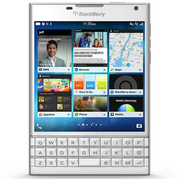BlackBerry Passport - Qwerty, White - SK distrib�cia