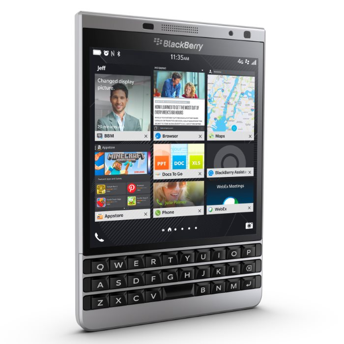 BlackBerry Passport - Silver Edition, Qwerty - SK distrib�cia