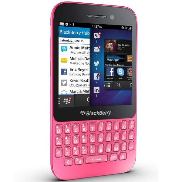 BlackBerry Q5 - Qwerty, Pink
