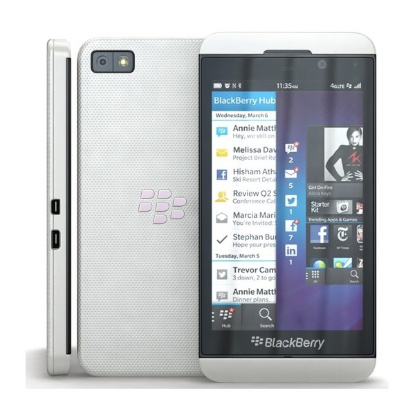 BlackBerry Z10, White - SK distrib�cia