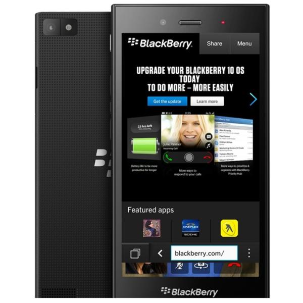 BlackBerry Z3, Black - SK distrib�cia