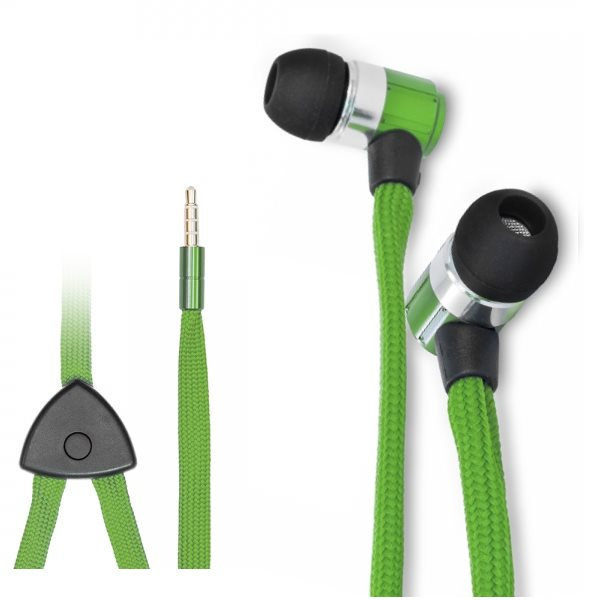 BlackMoon Swing, káblový Headset 3,5 mm, Green