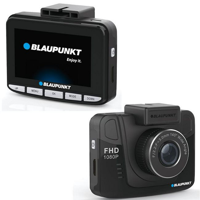 BlauPunkt BP 3.0 - Full HD(1920x1080) kamera do auta s GPS modulom