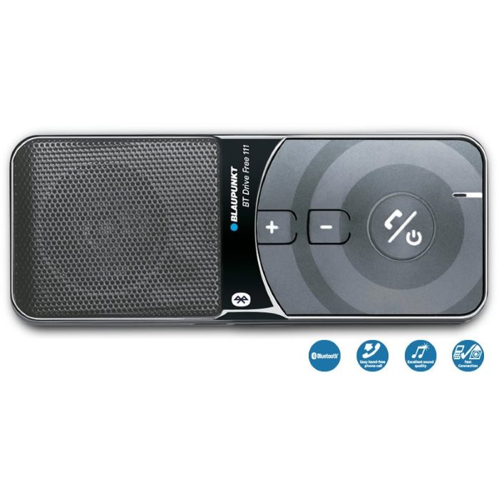 Blaupunkt DF-111 - Bluetooth Handsfree do auta, Black