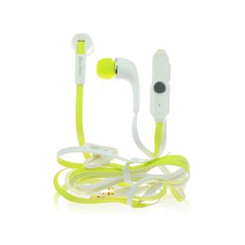 Blue Star Sport IN60, sl�chadl�/headset 3,5 mm, White/Yellow