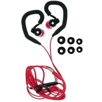 Blue Star Sport SP80, sl�chadl� 3,5 mm, Black/Red