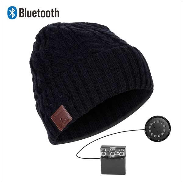 Bluetooth čiapka, čierna