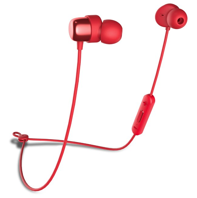 Niceboy Hive E2, Bluetooth slúchadlá, červené