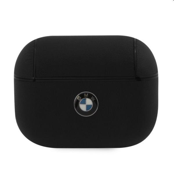 BMW Signature Kožené puzdro pre AirPods Pro, Black BMAPCSLBK